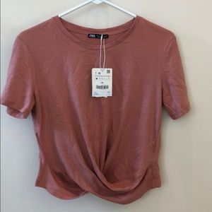 NWT Zara Crop Top Shirt